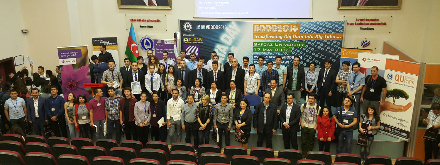 Big Data Day Baku 2016 - Group Photo after Closing Ceremony