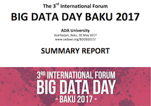 Big Data Day Baku 2017 - SUMMARY REPORT