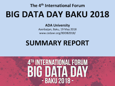 Big Data Day Baku 2018 - SUMMARY REPORT